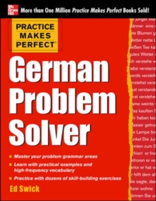 Practice Makes Perfect German Problem Solver, Paperback / softback Book