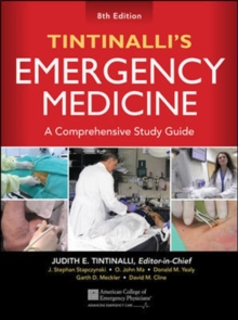 Tintinalli's Emergency Medicine: A Comprehensive Study Guide, Hardback Book