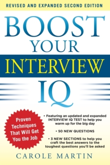 Boost Your Interview IQ 2/E, Paperback / softback Book