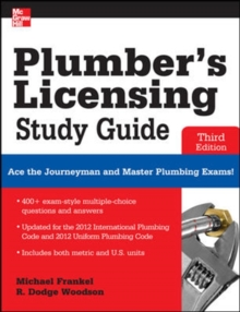 Plumber's Licensing Study Guide, Third Edition, Paperback Book