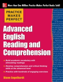 Practice Makes Perfect Advanced English Reading and Comprehension, Paperback / softback Book