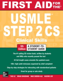 First Aid for the USMLE Step 2 CS, Fifth Edition, EPUB eBook