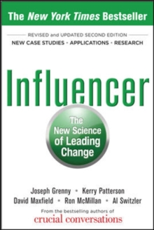 Influencer: The New Science of Leading Change, Second Edition (Paperback), Hardback Book