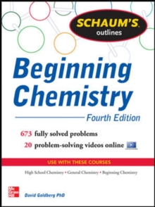 Schaum's Outline of Beginning Chemistry, Paperback / softback Book