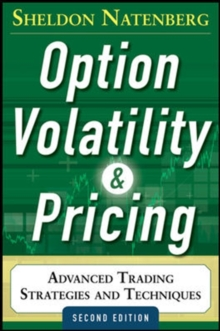 Option Volatility and Pricing: Advanced Trading Strategies and Techniques, Hardback Book
