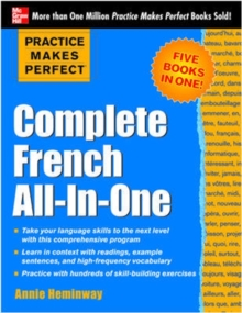 Practice Makes Perfect: Complete French All-in-One, Paperback Book