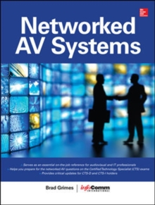 Networked Audiovisual Systems, Hardback Book