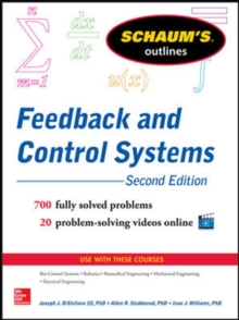 Schaum's Outline of Feedback and Control Systems, Paperback / softback Book