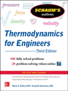 Schaums Outline of Thermodynamics for Engineers, Paperback Book