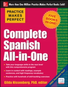 Practice Makes Perfect Complete Spanish All-in-One, Paperback Book
