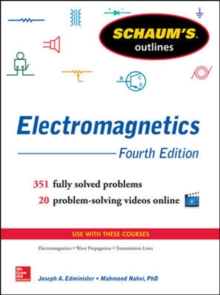 Schaum's Outline of Electromagnetics, Paperback Book