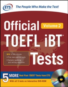 Official TOEFL iBT (R) Tests Volume 2, Book Book