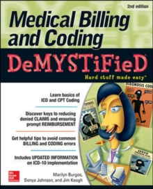 Medical Billing & Coding Demystified, Paperback / softback Book