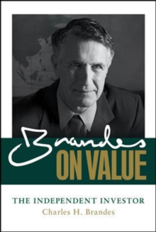 Brandes on Value: The Independent Investor, Hardback Book