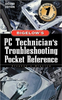 PC Technician's Troubleshooting Pocket Reference, Paperback Book