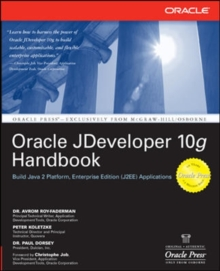 Oracle JDeveloper 10g Handbook, Paperback / softback Book