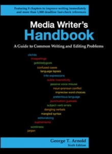 Media Writer's Handbook: A Guide to Common Writing and Editing Problems, Spiral bound Book