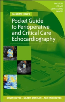 McGraw-Hill's Pocket Guide to Perioperative and Critical Care Echocardiography, Paperback / softback Book