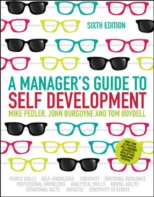 A Manager's Guide to Self-Development, Paperback / softback Book