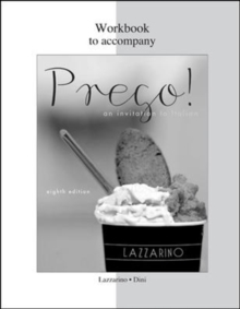 WORKBOOK TO ACCOMPANY PREGO! AN INVITATI, Paperback Book