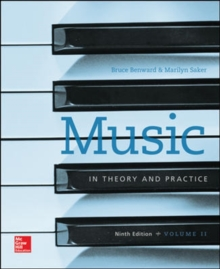 WKBK MUSIC IN THEORY N PRACTICE VOL 2 9E,  Book