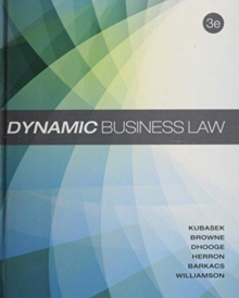 DYNAMIC BUSINESS LAW 3E,  Book