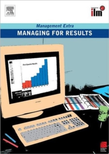 Managing for Results : Revised Edition, Paperback Book
