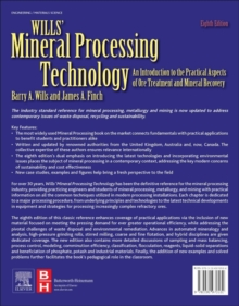 Wills' Mineral Processing Technology : An Introduction to the Practical Aspects of Ore Treatment and Mineral Recovery, Paperback / softback Book