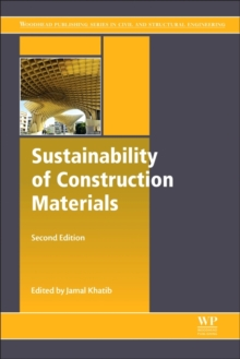 Sustainability of Construction Materials, Hardback Book