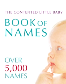 Contented Little Baby Book of Names, Paperback Book