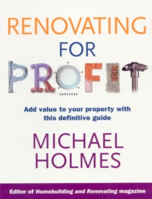 Renovating for Profit, Paperback Book