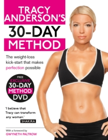Tracy Anderson's 30-Day Method, Paperback Book