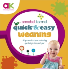 Quick and Easy Weaning, Hardback Book
