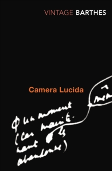 Camera Lucida : Reflections on Photography, Paperback Book