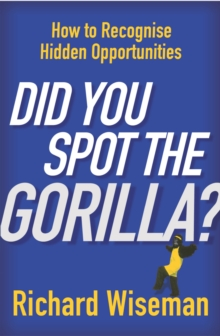 Did You Spot The Gorilla?, Paperback Book