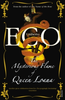 The Mysterious Flame Of Queen Loana, Paperback / softback Book