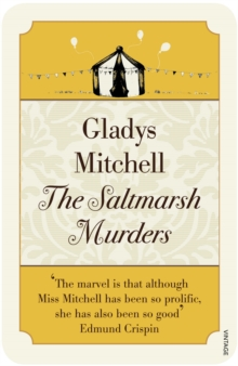 The Saltmarsh Murders, Paperback Book