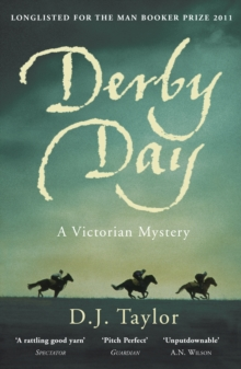 Derby Day : A Victorian Mystery, Paperback Book