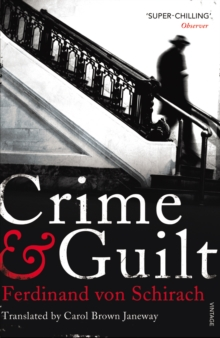 Crime and Guilt, Paperback Book