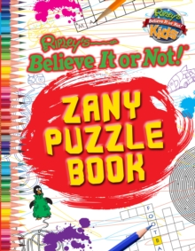 Zany Puzzle Book (Ripley's Believe it or Not!), Paperback Book