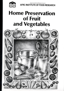 Home Preservation of Fruit and Vegetables, Paperback Book