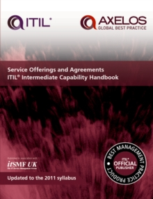 Service Offerings and Agreements Itil 2011 Intermediate Capability Handbook (Single Copy), Paperback Book