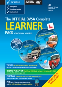 The Official DVSA Complete Learner Driver Pack [Electronic Version], Paperback Book