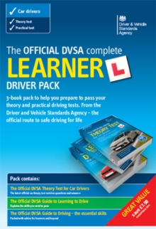 The official DVSA complete learner driver pack, Paperback Book