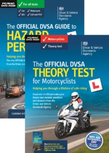 The official DVSA theory test for motorcyclists [virtual pack], Paperback / softback Book