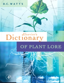Dictionary of Plant Lore, Hardback Book