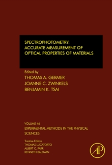Spectrophotometry : Accurate Measurement of Optical Properties of Materials Volume 46, Hardback Book