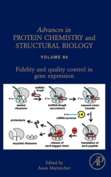 Fidelity and Quality Control in Gene Expression : Volume 86, Hardback Book