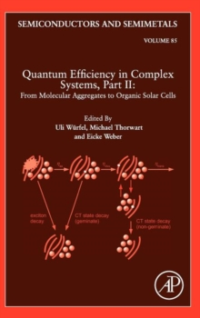Quantum Efficiency in Complex Systems, Part II: From Molecular Aggregates to Organic Solar Cells : Organic Solar Cells Volume 85, Hardback Book