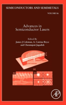 Advances in Semiconductor Lasers : Volume 86, Hardback Book